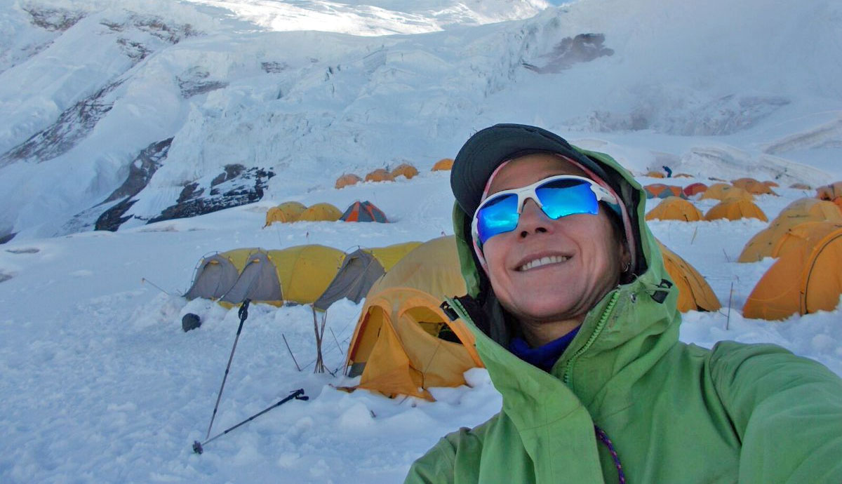 Lina Quesada rumbo al K2