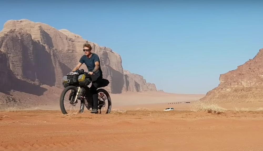 Bikepacking en el Jordan Trail