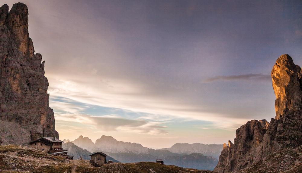 Amor y odio en la Alta Vía de los Dolomitas