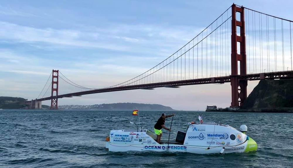 El Pacífico en paddle surf: comienza el reto