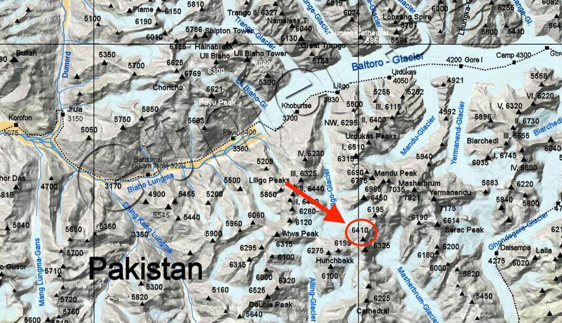 Dos desaparecidos en el Karakorum