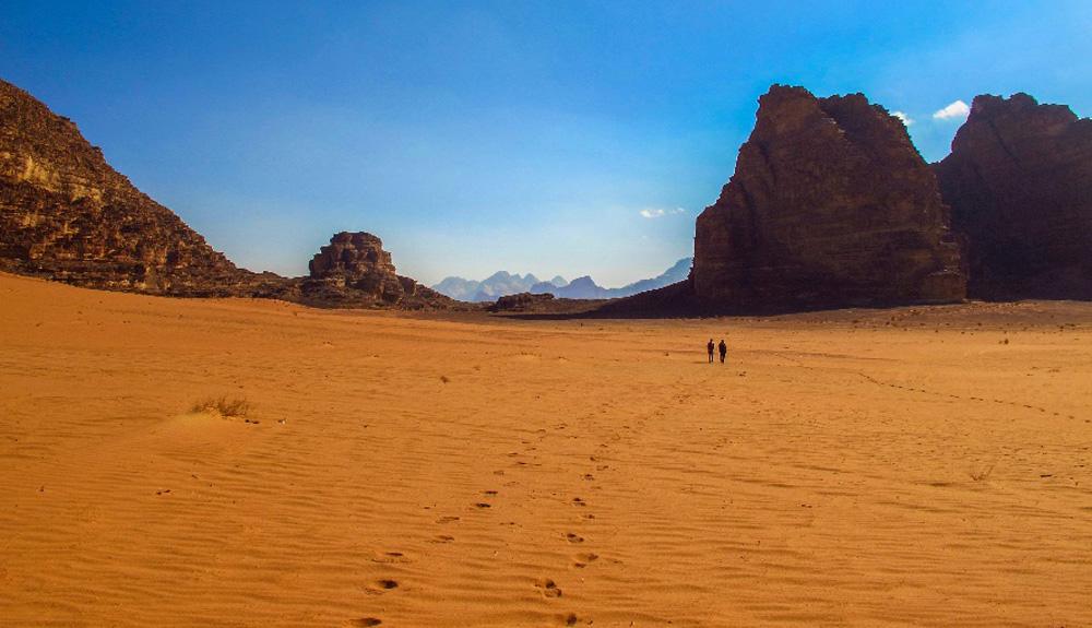 De Petra al Wadi Rum