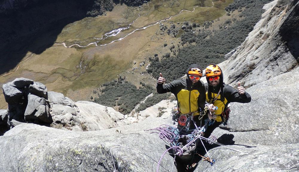 Los Pou, a por una montaña virgen en Cordillera Blanca