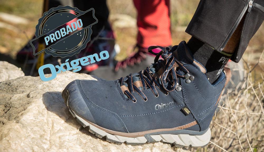 Chiruca Aborigen, el calzado de los caminantes jacobeos