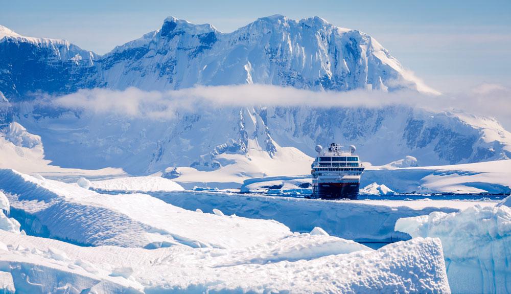 ¿Habéis soñado con navegar por la Antártida?