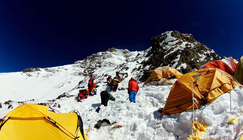 Exceso de tráfico en el K2