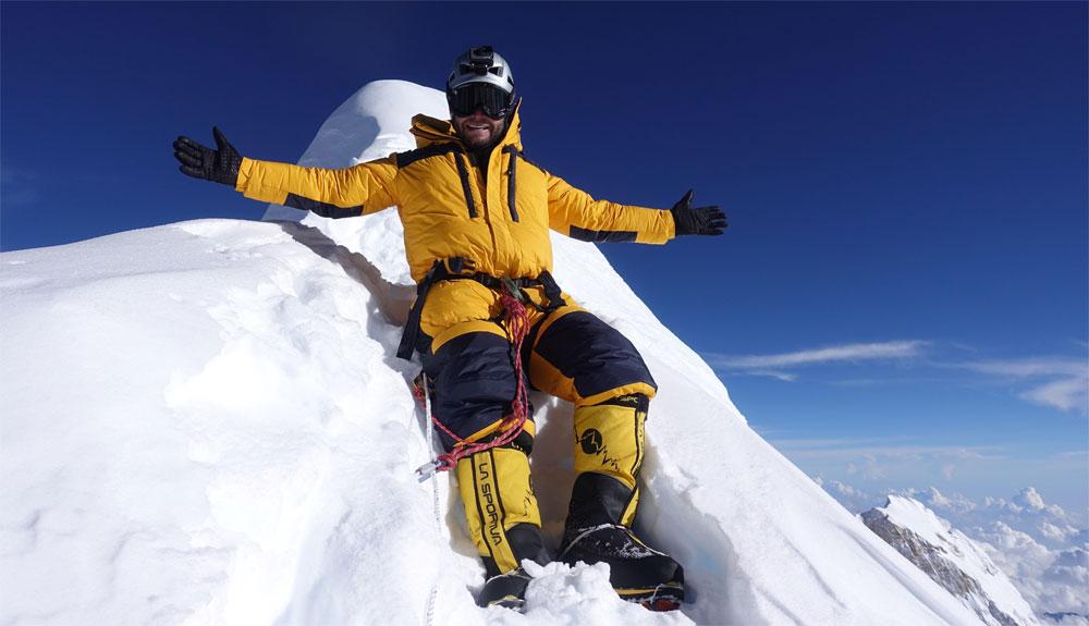 Moeses Fiamoncini también hacía cima en el Nanga Parbat