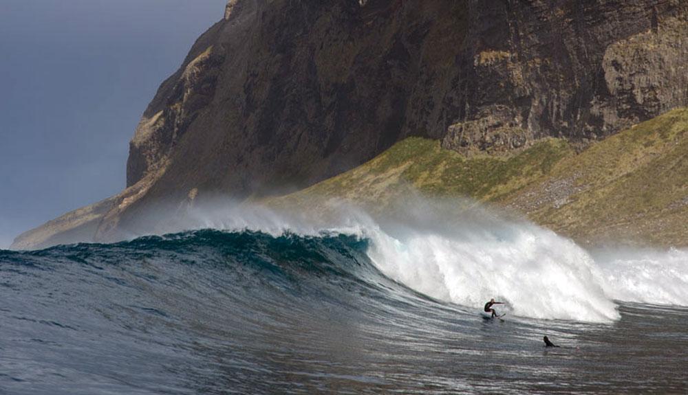 Buscando las mayores olas del planeta