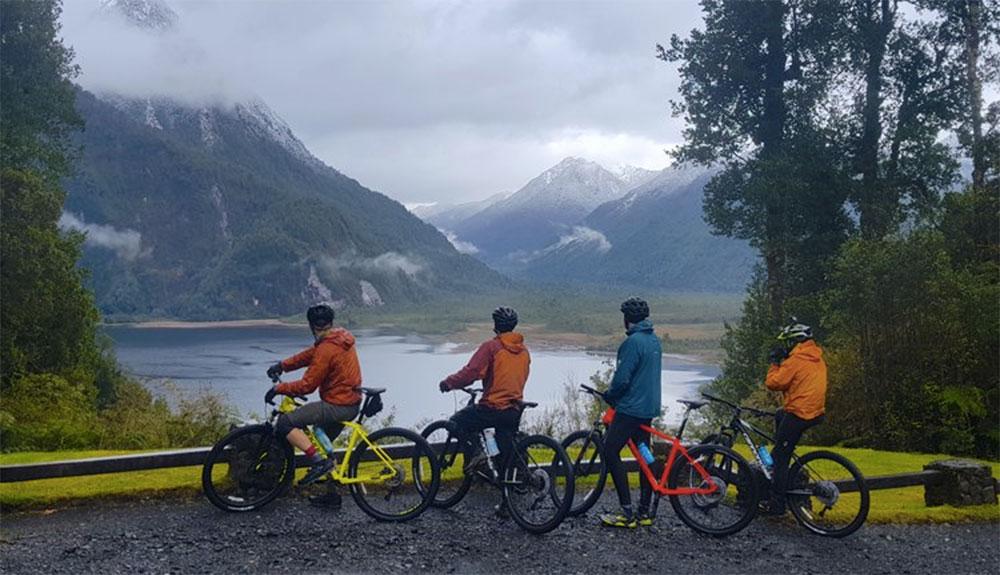 Explorando Patagonia en mountain bike