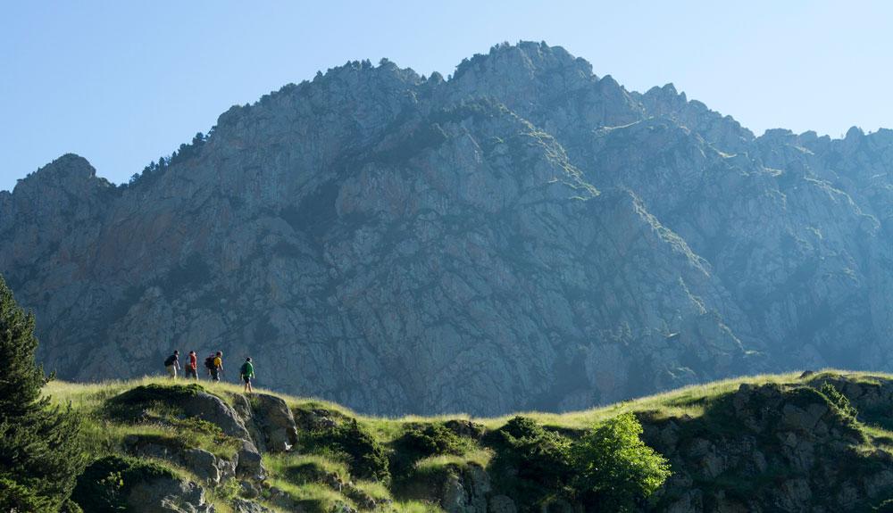Vall de Núria, como en casa