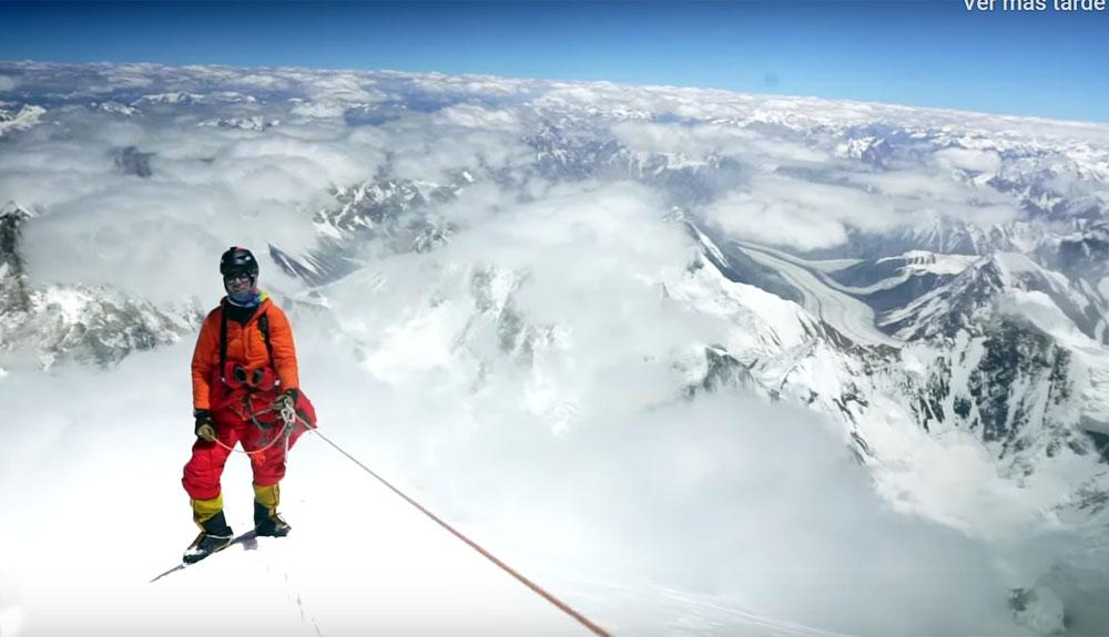 Desde la cima del K2