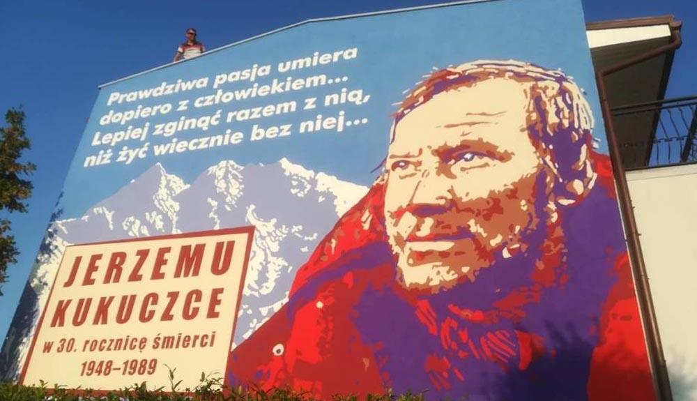 Un mural para Jerzy Kukuczka
