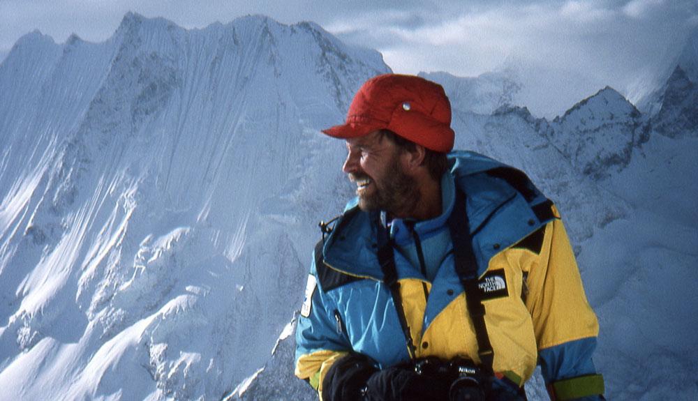 John Roskelley y la sombra de una gran montaña