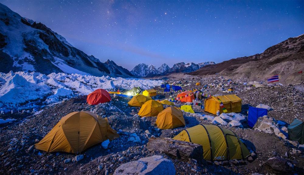 Así es pasar dos meses en el campo base del Everest