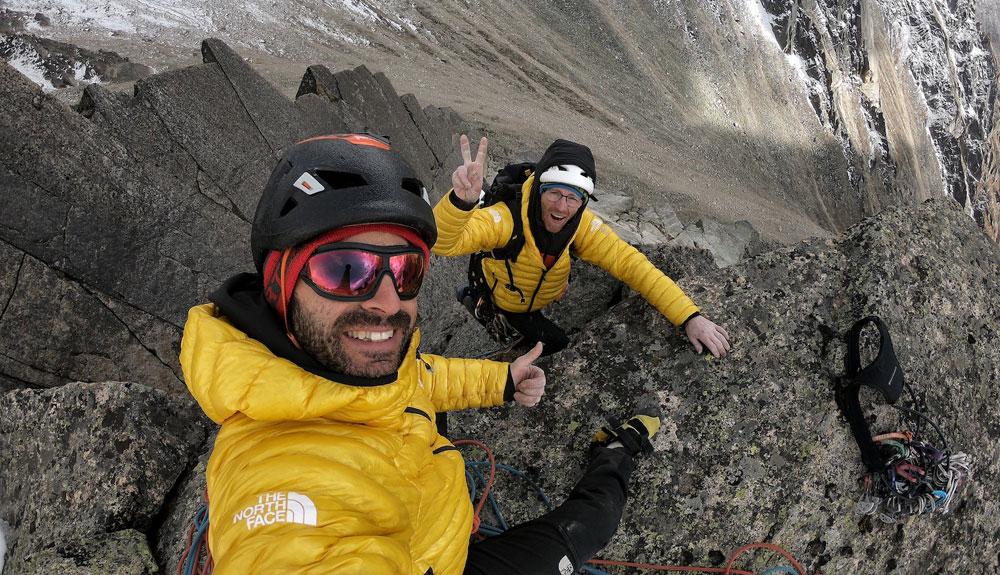 Los Pou firman tres nuevas rutas en el Himalaya
