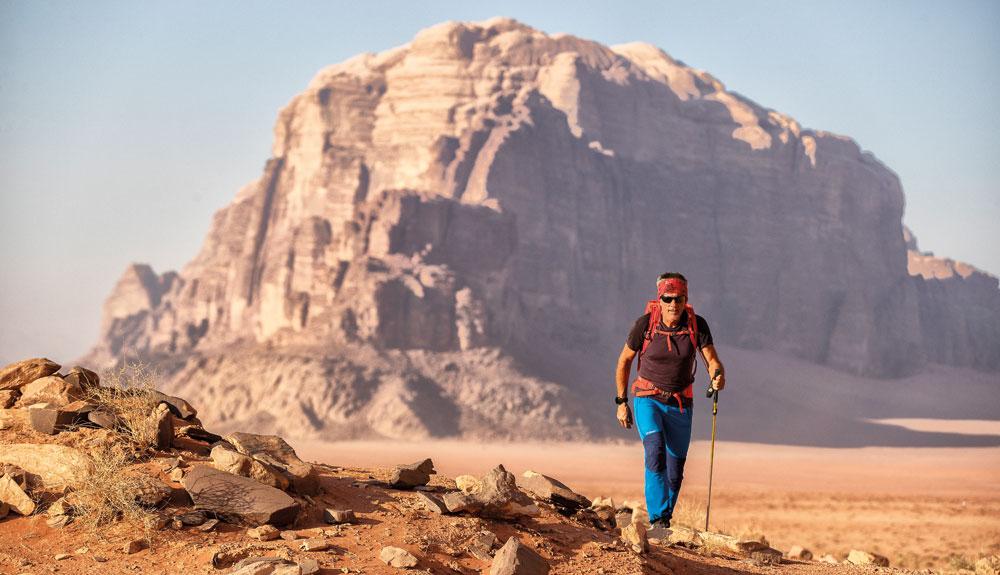 Jordan Trail, un viaje en el tiempo y la historia