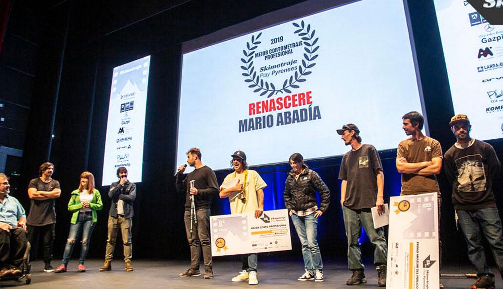 """""""Renascere"""" triunfa en el Skimetraje Play Pyrenees"""