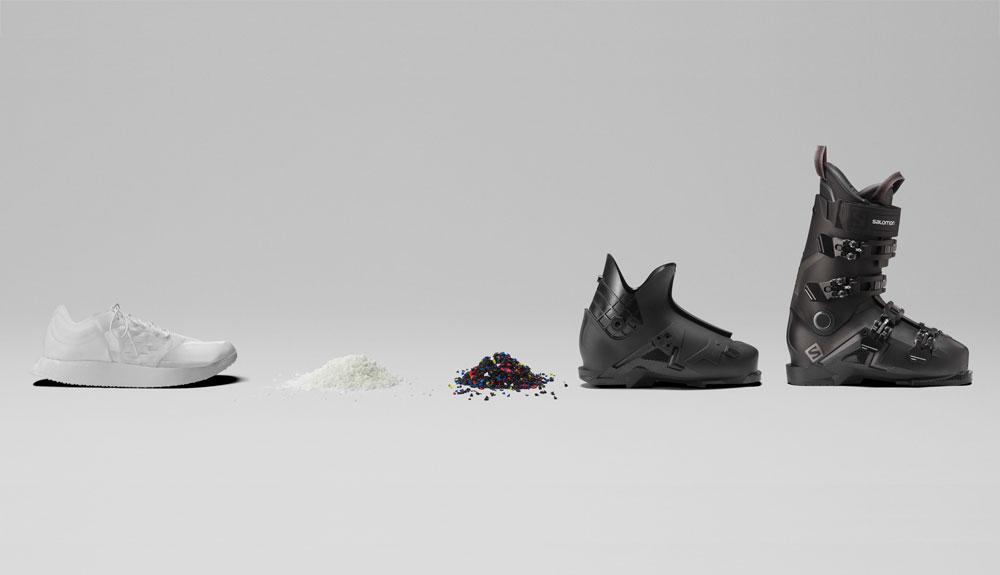La zapatilla de running que se recicla como bota de esquí