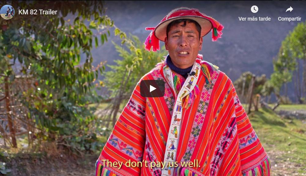 La voz de los porteadores del Camino Inca