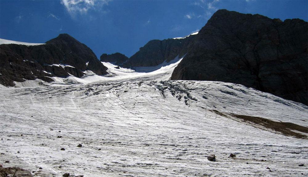 El mayor glaciar de Dolomitas desaparecerá en 25 años