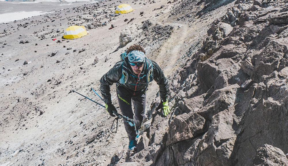 Récord de velocidad en el Aconcagua para Martin Zhor