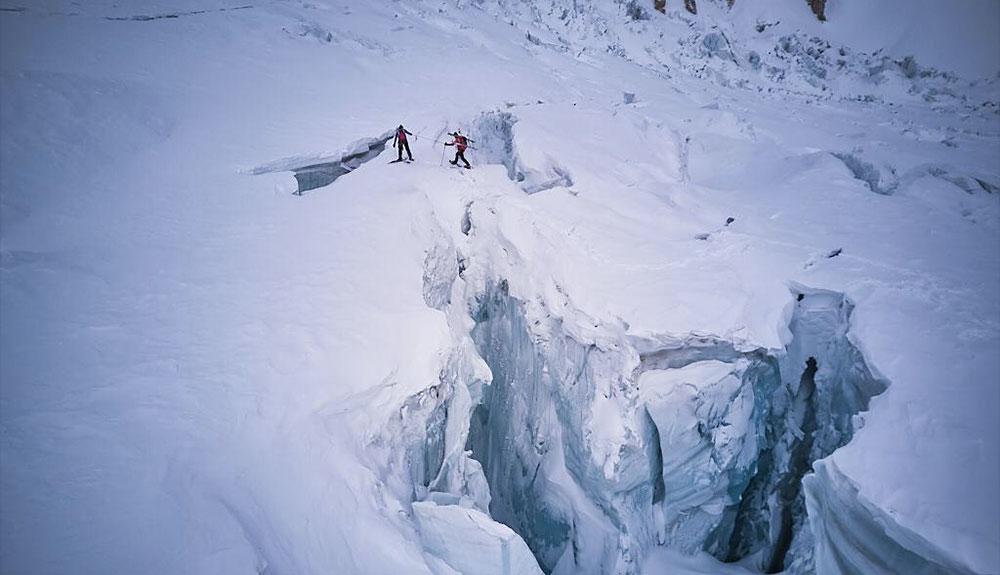 Accidente y evacuación en el Gasherbrum I