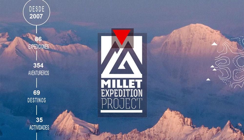 Vuelve el Millet Expedition Project