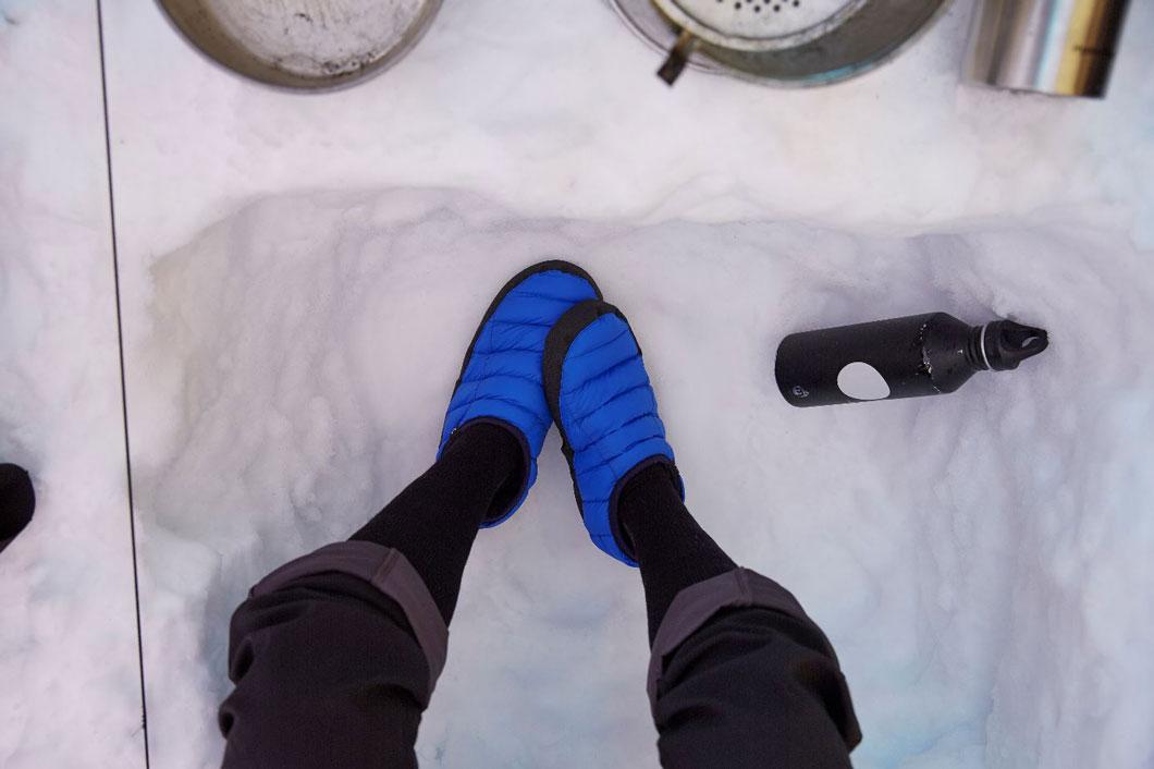 Unas zapatillas recicladas de sobrantes de fábrica