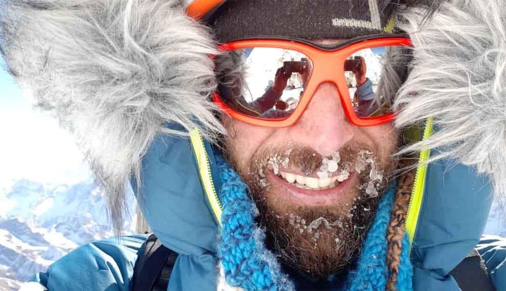 Hasta el C2 en el Everest invernal