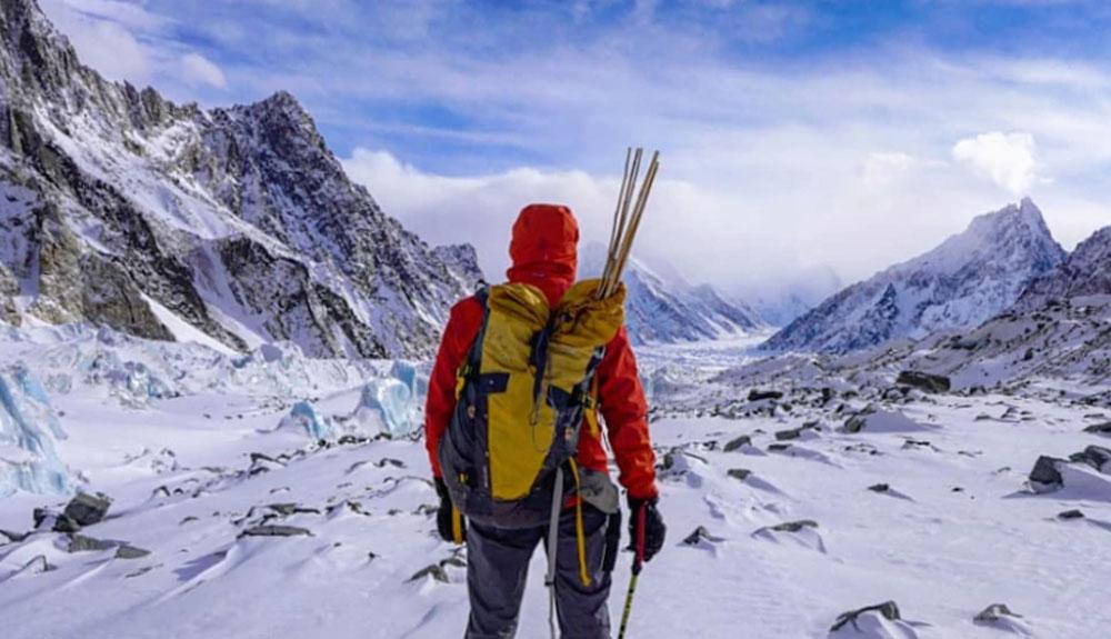 Denis Urubko, a solas con el Broad Peak