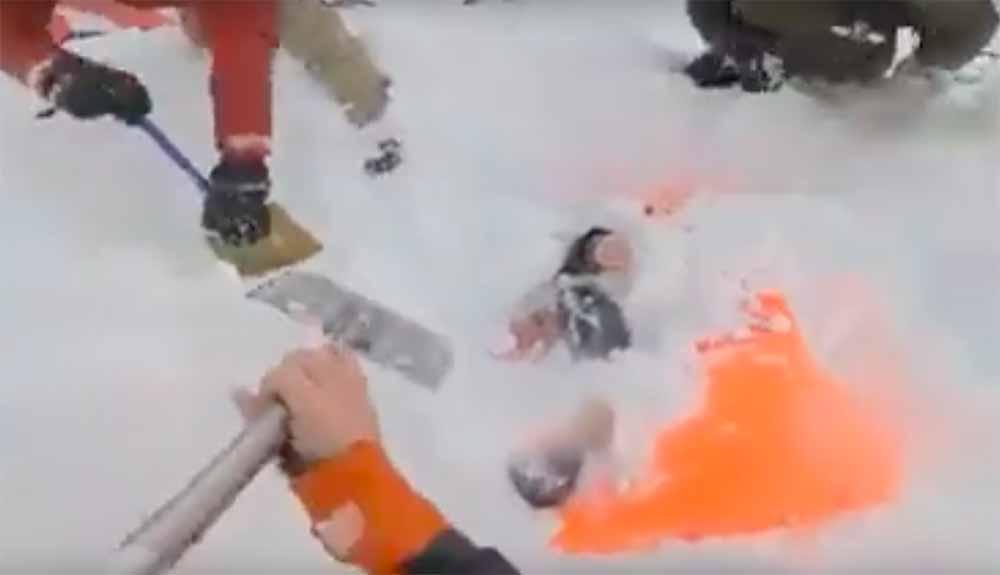 Angustioso rescate en Suiza tras una avalancha