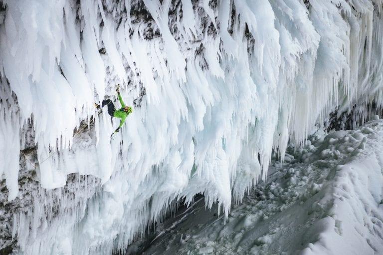¿La escalada en hielo más dura del mundo?