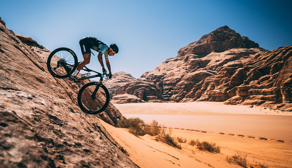 El Jordan Bike Trail de Tomás Misser