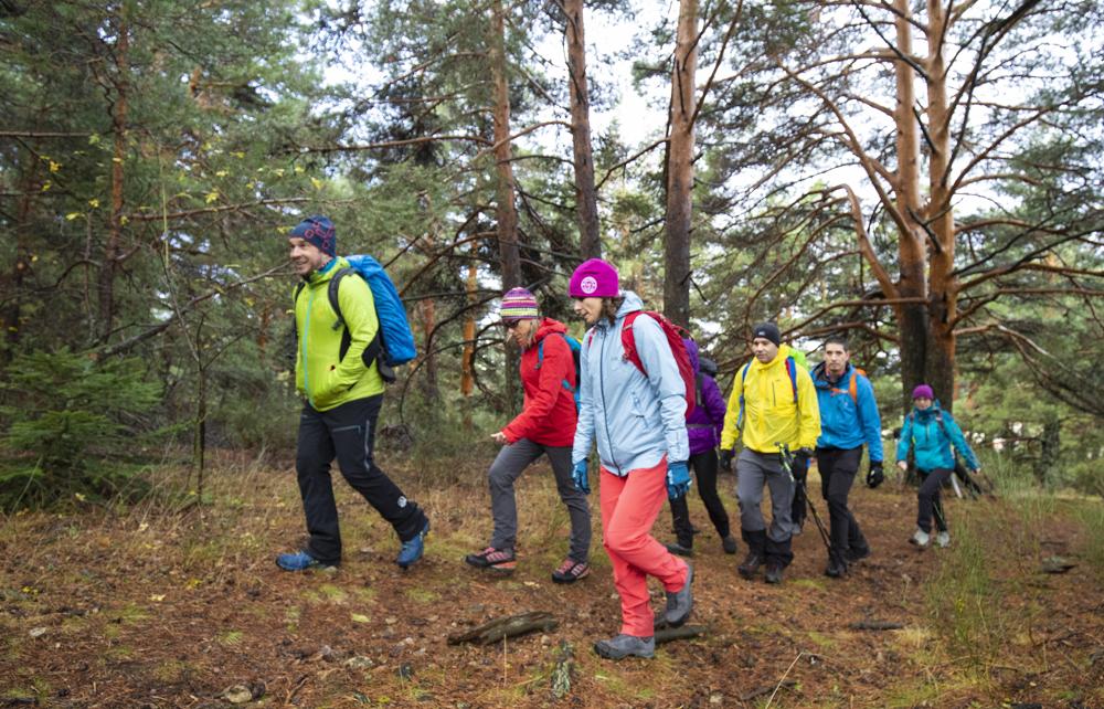 Un día de trekking con Edurne Pasaban