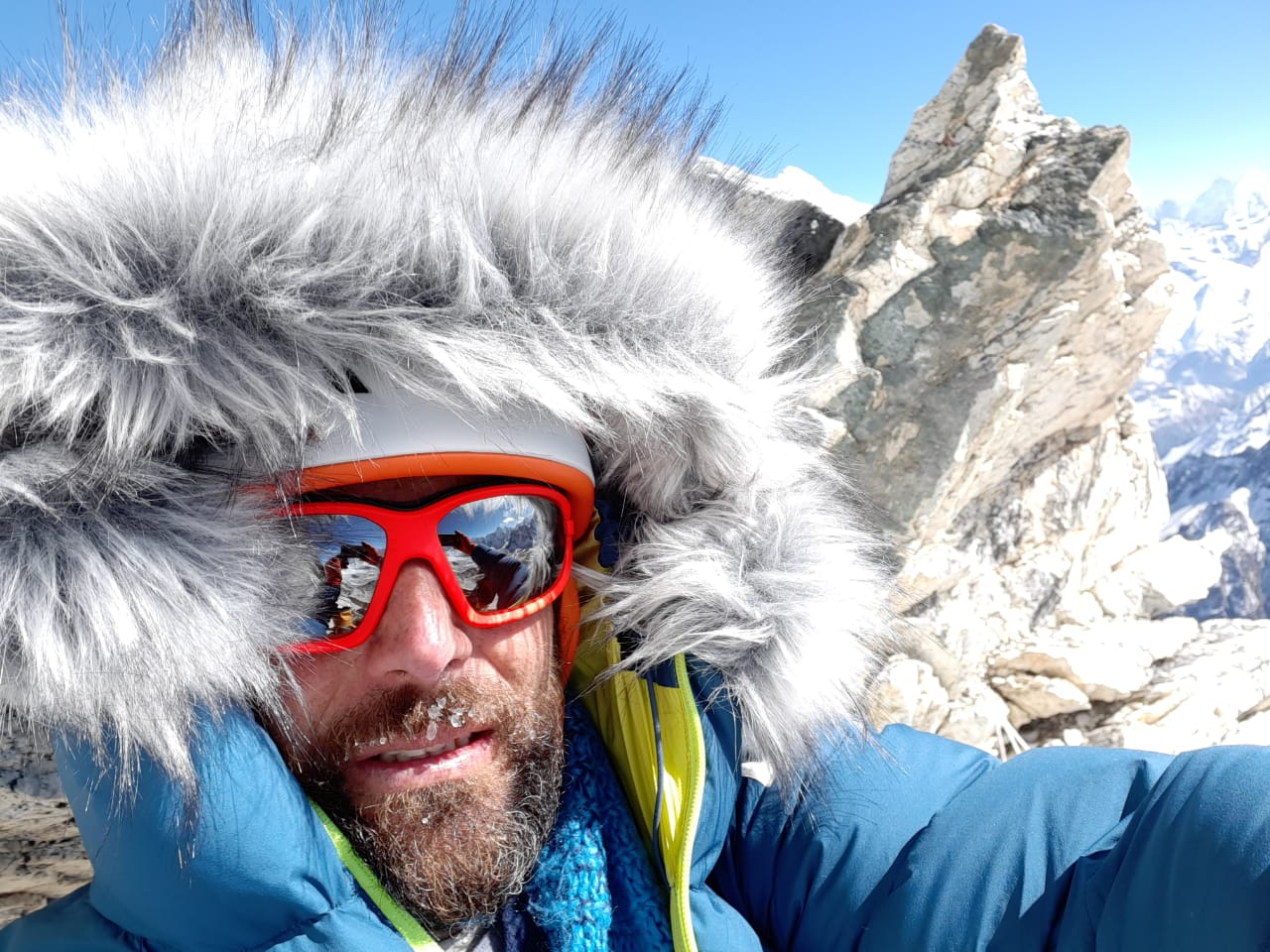 Alex Txikon en el Ama Dablam invernal