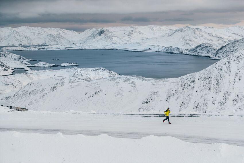 Pau Capell corre en defensa del Ártico