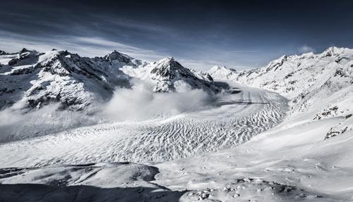 Aletsch Glaciar