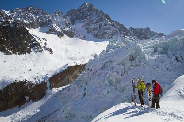 Argentiere ski snowboard