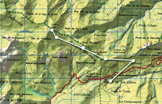 Mapa Coriscao skimo